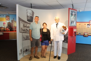 Us with the Colonel