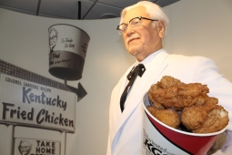 The Colonel himself with some friiiied chicken