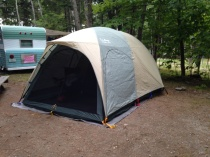 Our new tent!