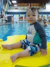 Kai Swimming Lesson 2017