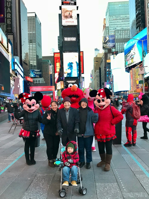 Times Square with Characters '18